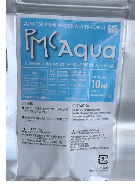 PMC Aqua 10 ml. Speciellt media för att ge PMC formsilver en optimal konsistens från torrhet.