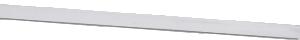 Sarg 2,4 mm hög för steninfattning, finsilver. 15 cm lång 0,3 mm tjock.