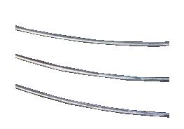 Lodsilver tråd för Sterling 0,5M Halv hårt 0.8 mm tråd. Pris per 1/2 meter