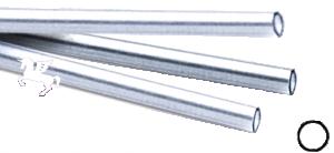 Argentium 935 rör. Lämpligt för 2 mm sten. Säljs per 5 cm. Ange antalet 5 cm.