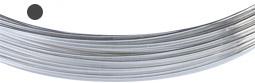 Silvertråd Finsilver 999, 1 mm rund. Pris per meter. Billigare vid mer än 2 M.