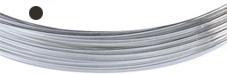 Silvertråd Finsilver 999, 0.8 mm rund mjuk. Pris per meter.