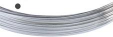 Silvertråd Finsilver 999, 0.5 mm rund mjuk. Pris per meter.