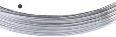 Silvertråd Finsilver 999, 0.3 mm rund mjuk. Priset är per meter.