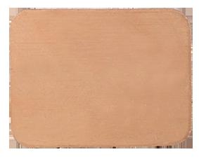 Koppar rektangulär 26x20 mm. 1 mm tjock.