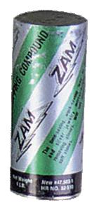 Polervax för blankpolering, ZAM, tub 11 x 5 cm, 480 gram