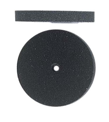 Polertrissa Medium, 2-pack, silikon med inbakade carbidslipkorn. Diameter 22mm, 3 mm bred, Hålet är 1,5 mm.