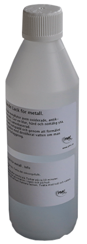 Skyddande lack för alla metaller. 25 cl