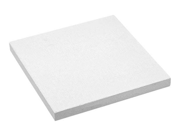 Lödunderlag Solderite 15x15 x1,5 cm.  Vitt keramiskt material.