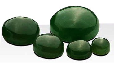 Jade 8 x 6 mm oval cabochon