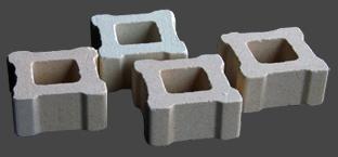 Ugnsklossar 4st fyrkantiga ca 25x25x12 mm. Små, passar även för vår minsta ugn.
