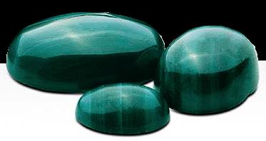 Malachite 10x8 mm oval cabochon