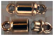 Magnetlås brons. 14 mm långt.