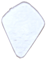 Täckglas Droppe ca 4 cm hög