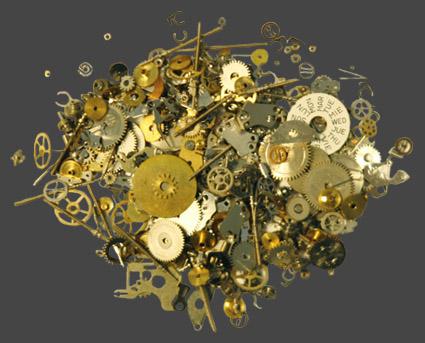 Klockdelar (Steampunk)
