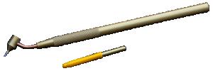 Penna för att måla tunna linjer, medium-large