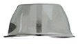 Slumpingskål 70x30 mm rostfri. Kan användas för slumping av ljuslykta eller skål