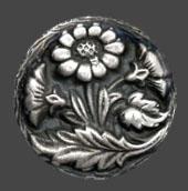 "Silikonform ca 2,2 cm mönster. Sunflower 7/8"""