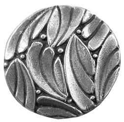 Silikonform Blad med kulor 2,3 cm