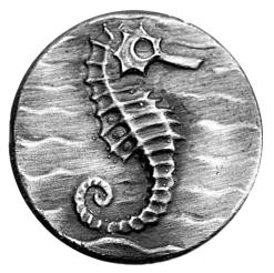 Silikonform Sjöhäst 2,2 cm