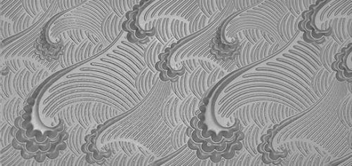 Gummimatta Waves, 10x5 cm