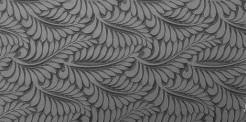 Gummimatta Ormbunke, 10x5 cm
