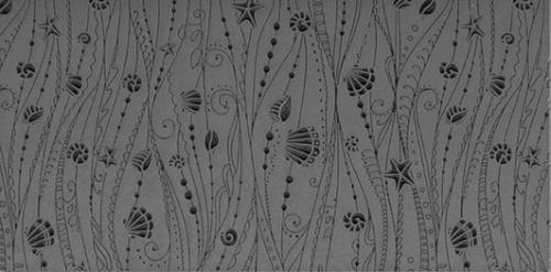 Gummimatta Ocean Motion Fineline 10x5 cm