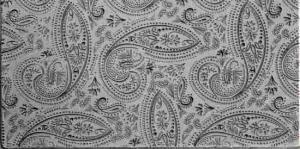 Gummimatta Mehndi Paisley Fineline, 10 x 5 cm