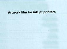 Transparenta ark för bläckstråleskrivare, 3 st ca 29x21 cm.
