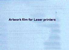Transparenta ark, 4st ca 29x21 cm för laserskrivare och kopiator
