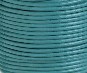 Läderrem 1,5 mm Sjögrön. Pris per meter