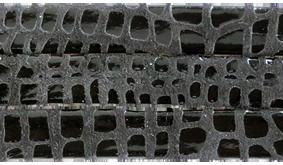 Läderrem Cancun svart 10mm platt. Priset är per 20 cm.