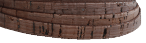 Korkrem Platt 10 mm brun. Säljes per 20 cm.