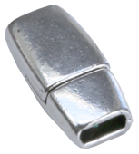 Magnetlås för platt 5 mm läder eller t.ex tre runda 1,5 - 2 mm.