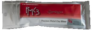 Silverlera spruta, 9 gram netto silver, 10 gram material. Sprutspets ingår.