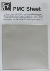 Silverark 6 x 6 cm. arket är av PMC+ .