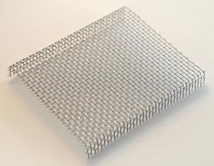 Bränngaller med nedvikta kanter, 11,5 x 10 cm