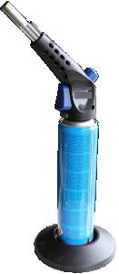 Brännare med kraftig låga. I första hand att användas för att emaljera med låga.Gas medföljer.