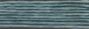 Sidenband, vävt, tvättat och handfärgat 3 mm, 1meter.
