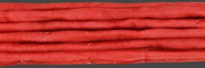 Sidenband, vävt, tvättat och handfärgat.1meter.