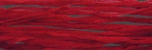 Sidenband, tvättat och handfärgat 18 mm brett, krusigt, 1meter.
