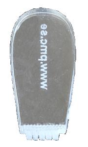 Stämpel med egen text. 2,6 mm hög text. För metallera, silver, brons, koppar.§