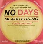 Lim för att fästa glas vid glas innan fusing.