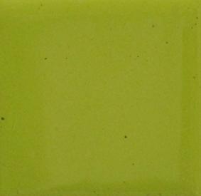 Bitter grön opak emalj. Kommer som tvättat emaljpulver i burk om 55 gram.
