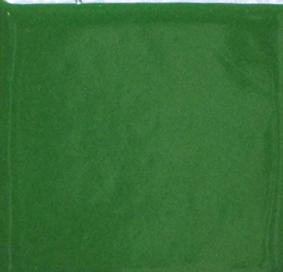 Djungelgrön opak emalj. Kommer som tvättat emaljpulver i burk om 55 gram.