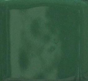 Mistletoe grön opak emalj. Kommer som tvättat emaljpulver i burk om 55 gram.