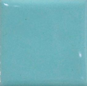 Aquamarin opak emalj. Kommer som tvättat emaljpulver i burk om 55 gram.