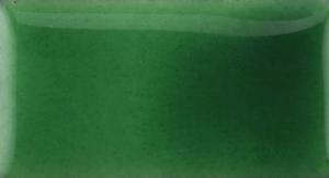 Emalj Gem grön. Kommer som tvättat emaljpulver i burk om 55 gram.