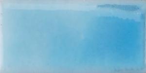 Emalj Kopparblå. Kommer som tvättat emaljpulver i burk om 55 gram.