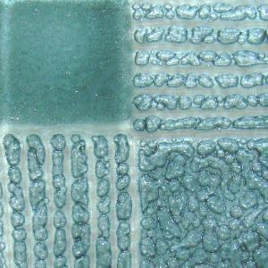 Artisan Glacier färg som ger bubblor mellan glas